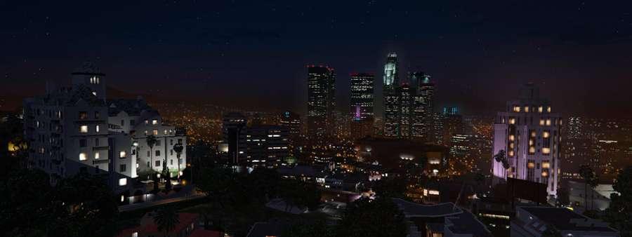 Nacht in GTA 5