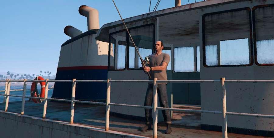 Wie man Fisch in GTA 5