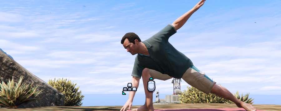 Der Yoga in GTA 5