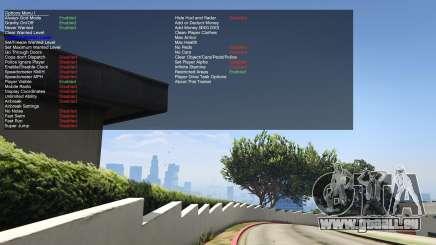 NativeTrainer dans GTA 5