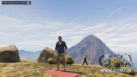 Comment faire du yoga dans GTA 5