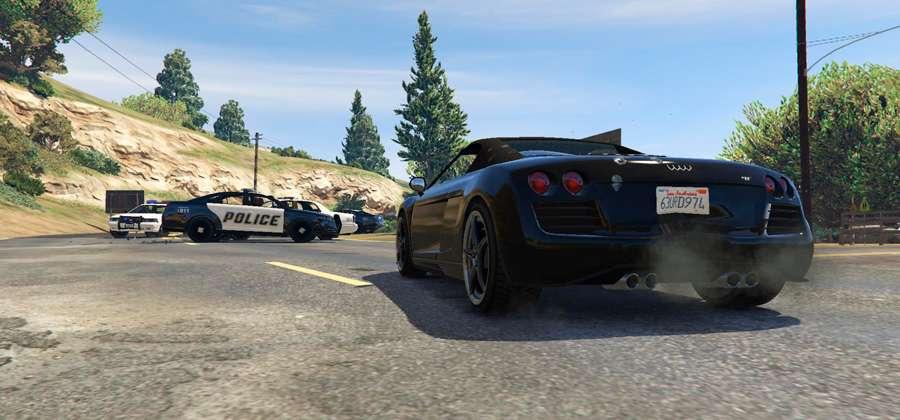 Comment obtenir loin de police dans GTA 5