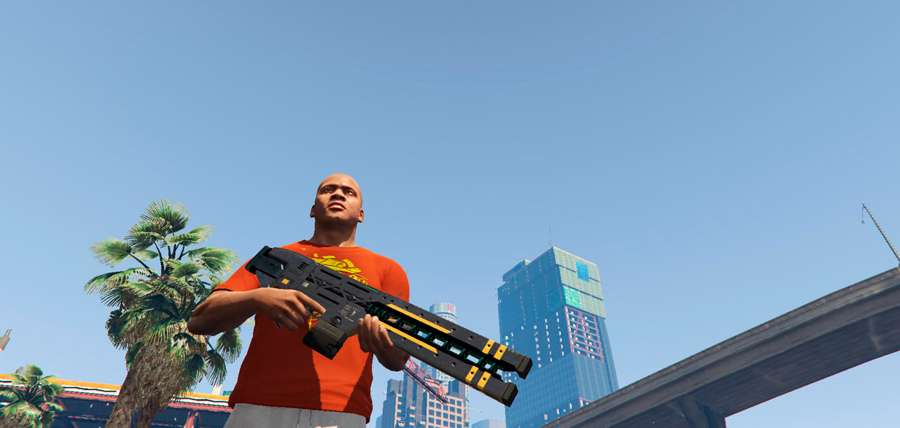 Wie man railgun in GTA 5
