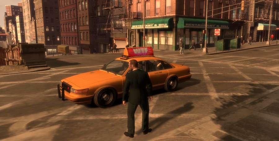 Comment appeler un taxi dans GTA 4