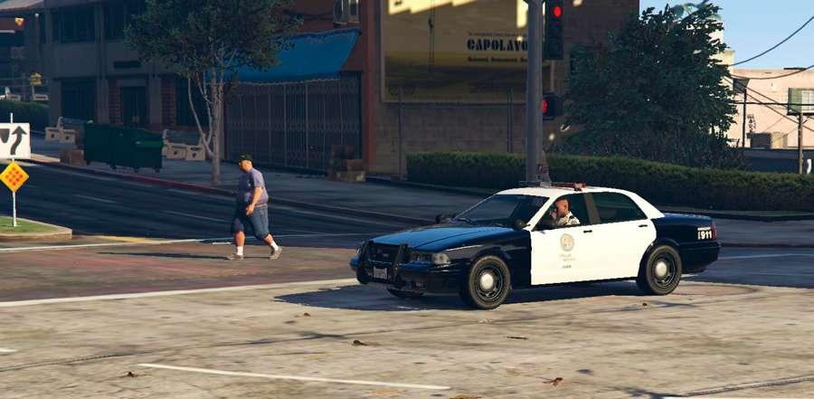Comment se rendre à la police dans GTA 5