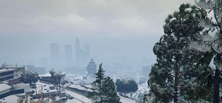 De la neige dans GTA 5