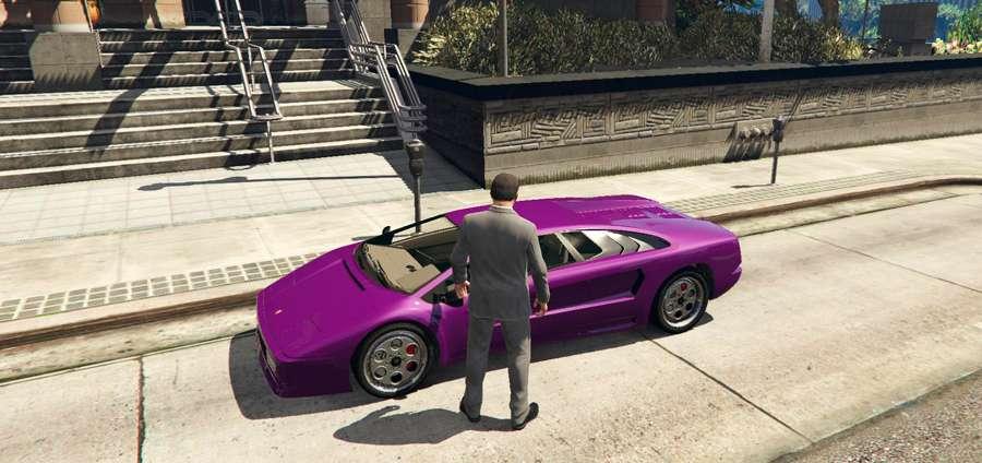 So sperren Sie ein Auto in GTA 5