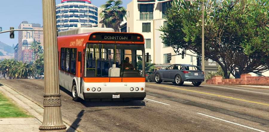 Wie die Arbeit als bus-Fahrer in GTA 5