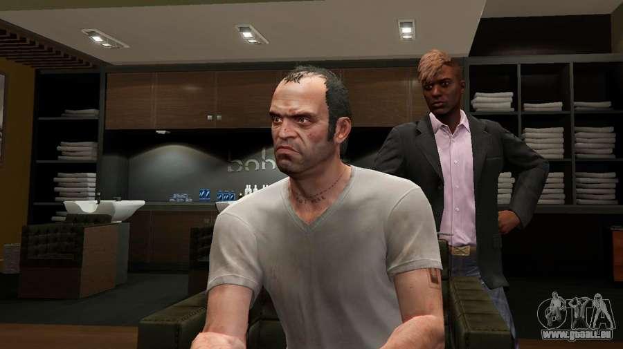 Comment ouvrir un de nouvelles coiffures dans GTA 5