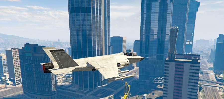 Wie fliegt die Hydra in GTA 5