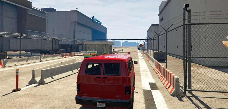 Wie der Flughafen in GTA 5