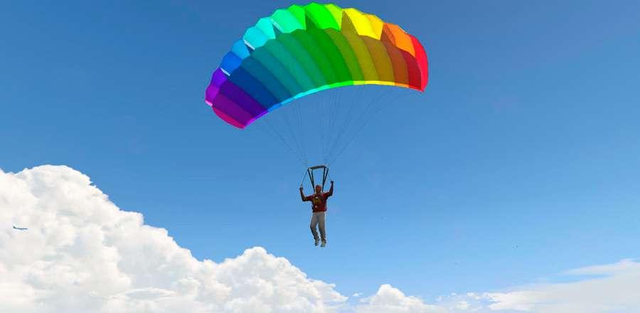 Wie öffnet man den Fallschirm bei GTA 5