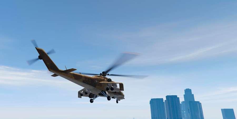 Wie fliegt man einen Hubschrauber in GTA 5