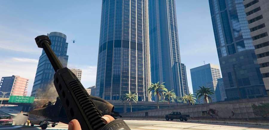 So ändern Sie crosshair in GTA 5