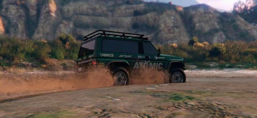 Annis Trublion dans GTA 5 Online