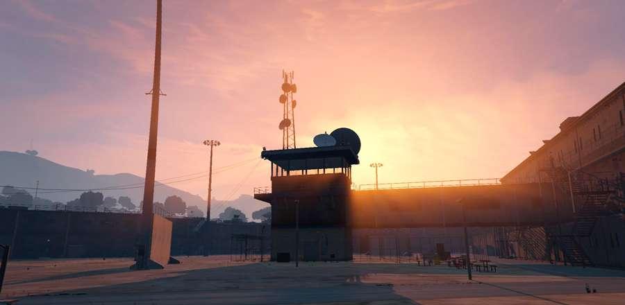 Sieht aus wie ein Gefängnis BOLINGBROOK in GTA 5