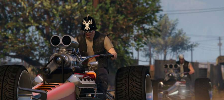 West Kriecht die Rakete in GTA 5 Online