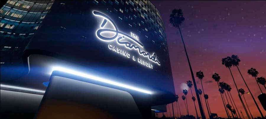 Le casino Diamond Heist dans GTA 5