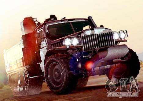 La roue de la fortune dans GTA 5