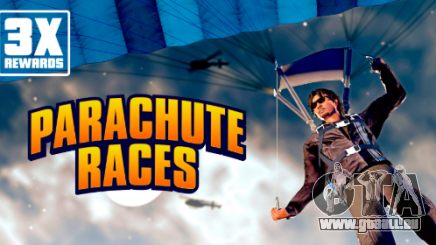 Récompenses triplées dans les courses en parachute