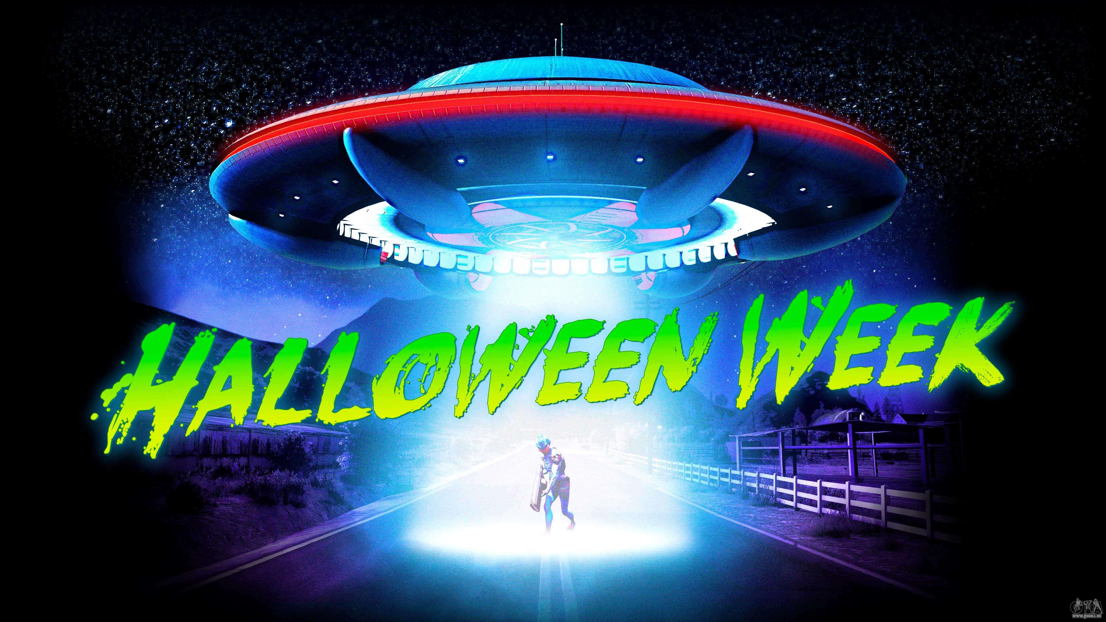 Semaine d'Halloween à GTA Online