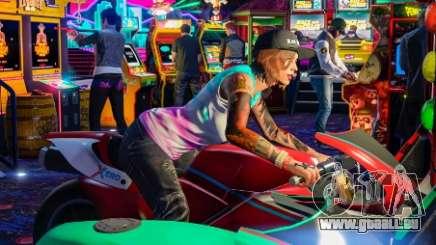 Améliorations et modifications des salles d'arcade
