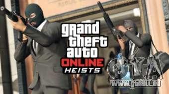 Vols dans GTA Online 1