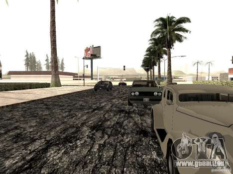 New roads in Las Venturas pour GTA San Andreas sixième écran