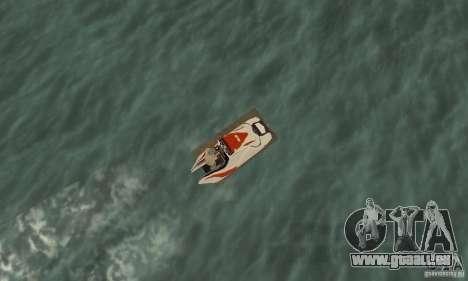 Hydrocycle für GTA San Andreas rechten Ansicht