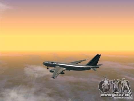 Airbus A330-200 Air France für GTA San Andreas rechten Ansicht