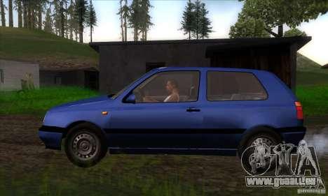 Volkswagen Golf 3 für GTA San Andreas linke Ansicht