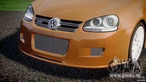 Volkswagen Golf R32 v2.0 pour GTA 4 vue de dessus