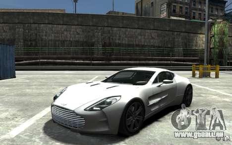 Aston Martin One 77 pour GTA 4