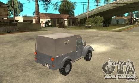 ARO M461 pour GTA San Andreas vue de droite
