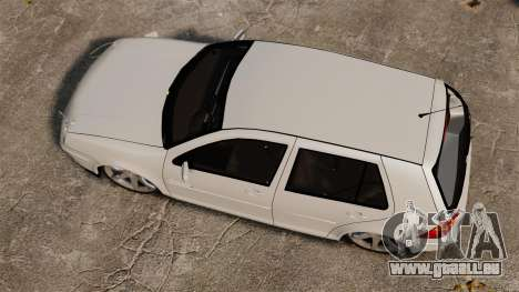 Volkswagen Golf Flash Edit pour GTA 4 est un droit