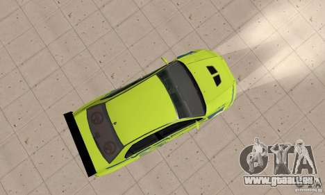 Mitsubishi Lancer Evo The Fast and the Furious 2 für GTA San Andreas rechten Ansicht