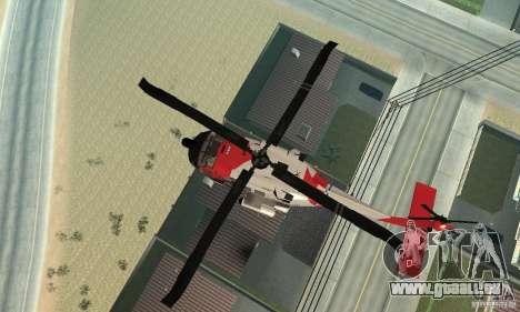 HH-60 Jayhawk USCG pour GTA San Andreas vue de côté