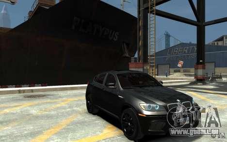 BMW X6 M pour GTA 4 Vue arrière