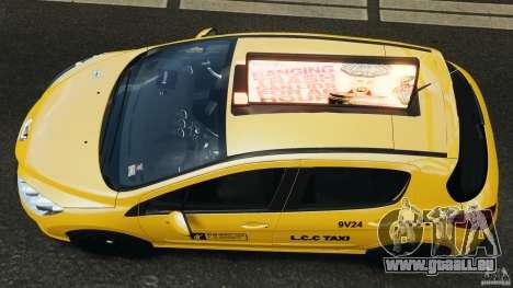 Peugeot 308 GTi 2011 Taxi v1.1 pour GTA 4 est un droit