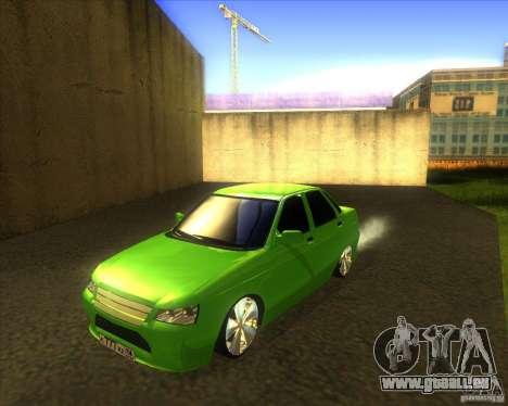 LADA priora voiture tuning pour GTA San Andreas