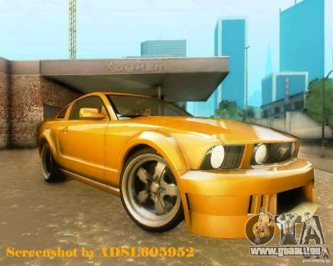 Ford Mustang GT 2005 Tunable für GTA San Andreas linke Ansicht