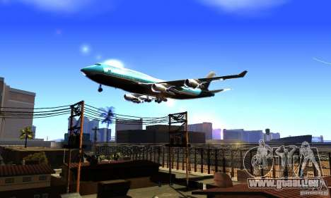 Boeing 747 KLM pour GTA San Andreas
