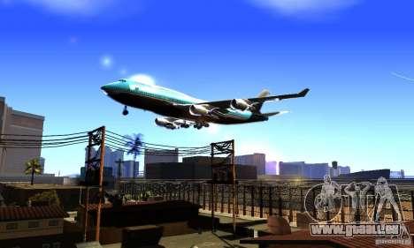 Boeing 747 KLM für GTA San Andreas
