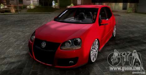 Volkswagen Golf MK5 GTI Stance pour GTA San Andreas