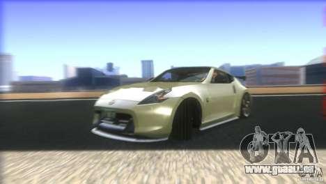 Nissan 370Z Drift 2009 V1.0 pour GTA San Andreas vue de dessous