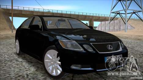 Lexus GS430 für GTA San Andreas
