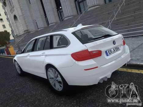 BMW M5 F11 Touring V.2.0 pour GTA 4 Vue arrière de la gauche