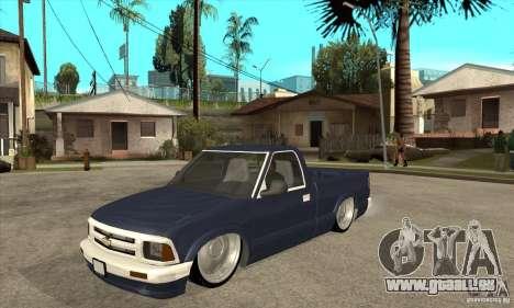 Chevrolet S-10 1996 Draggin pour GTA San Andreas