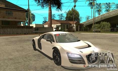 Audi R8 LMS v1 für GTA San Andreas Rückansicht