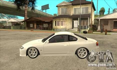 Nissan Silvia S15 Japan Drift für GTA San Andreas linke Ansicht